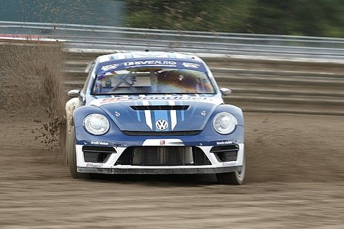 Practice report from Andretti Rallycross at Daytona