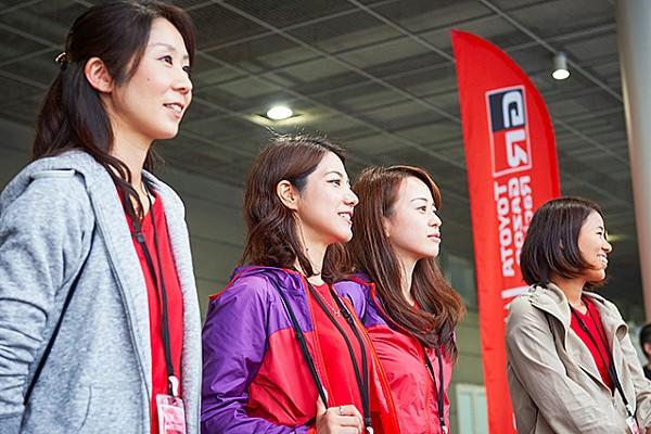 女性のためのモータースポーツプロジェクト、TGR WOMANが新城ラリーで出展