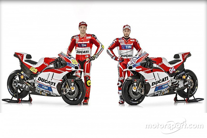 Ducati unveils its 2016 MotoGP bike