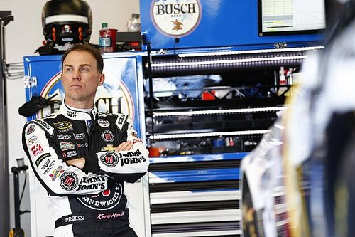 """Harvick: """"Out of control rumor mill"""" sparked meeting with Kahne"""