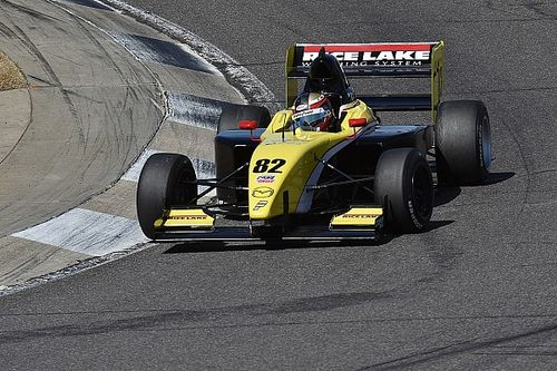 Telitz beats Grist to Pro Mazda pole at Barber