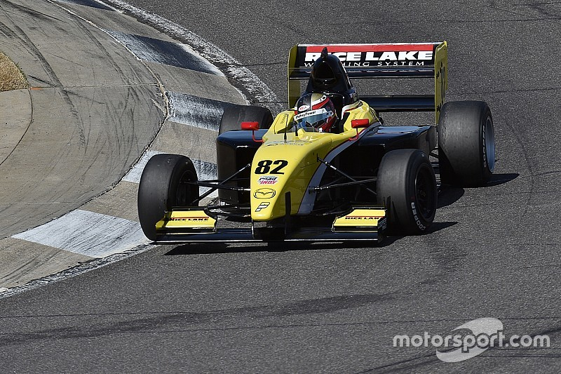 Telitz beats Grist to Pro Mazda pole at Barber