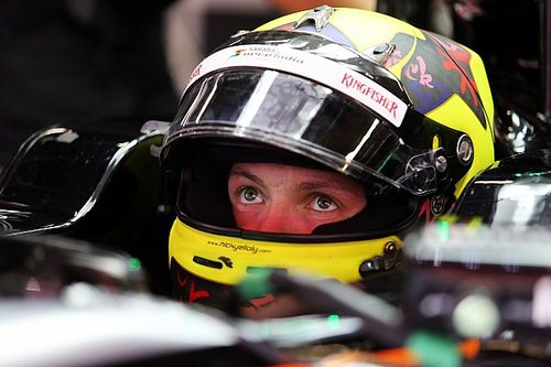 Yelloly probará para Racing Point en Barcelona