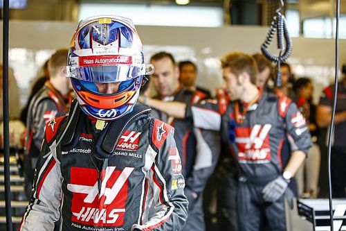 """Grosjean : """"Une de mes meilleures courses de l'année"""""""