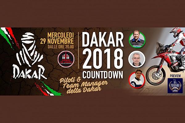 Dakar Ultime notizie Tanti protagonisti della Dakar a Ciapa la Moto il 29 novembre