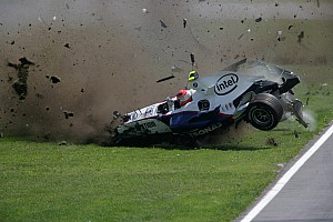 Algunos de los accidentes más impresionantes de la Fórmula 1