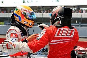 When a Hamilton mishap handed Kubica a win