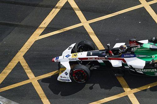 Formule E Hong Kong: Abt wint na spin van Mortara