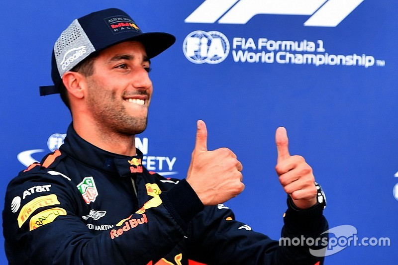 Ricciardo: Red Bull aşırı zorlamaya gerek bırakmayacak kadar hızlı