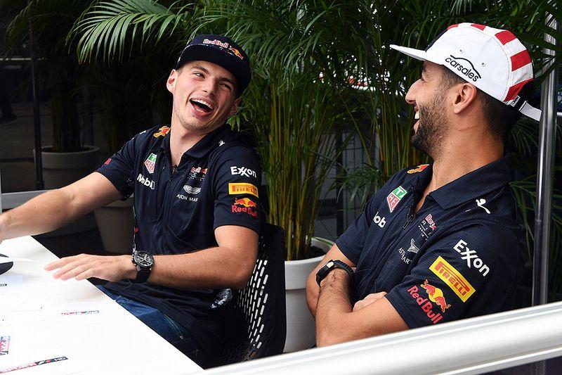 """Ricciardo Verstappenről: """"Semmi teret nem hagytunk egymásnak…"""""""
