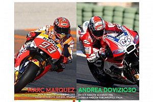 Infografica: ecco tutti i numeri del duello tra Dovizioso e Marquez