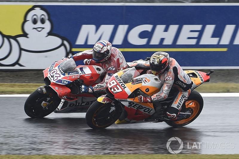 """Márquez: """"Una batalla increíble entre dos pilotos que se juegan el título"""""""