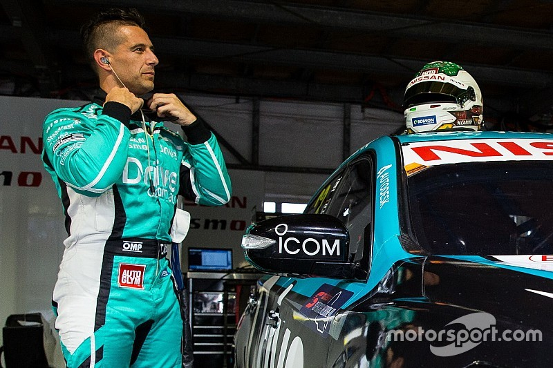 Winton Supercars: Caruso leads Nissan one-two in Practice 2