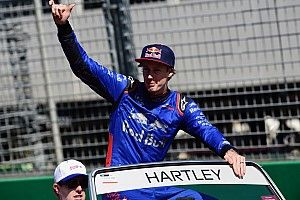 La llegada de Hartley a Toro Rosso le dio risa a Vergne