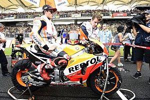 Tak mampu imbangi Ducati, Marquez pilih amankan poin