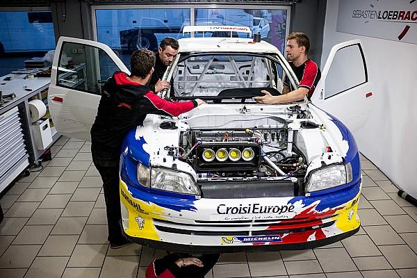 Peugeot 306 Maxi von Sebastien Loeb: Rennen gegen die Zeit