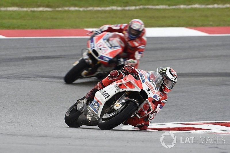 "Lorenzo: ""Adaptarme a la Ducati es como poner a Messi a jugar de medio"""