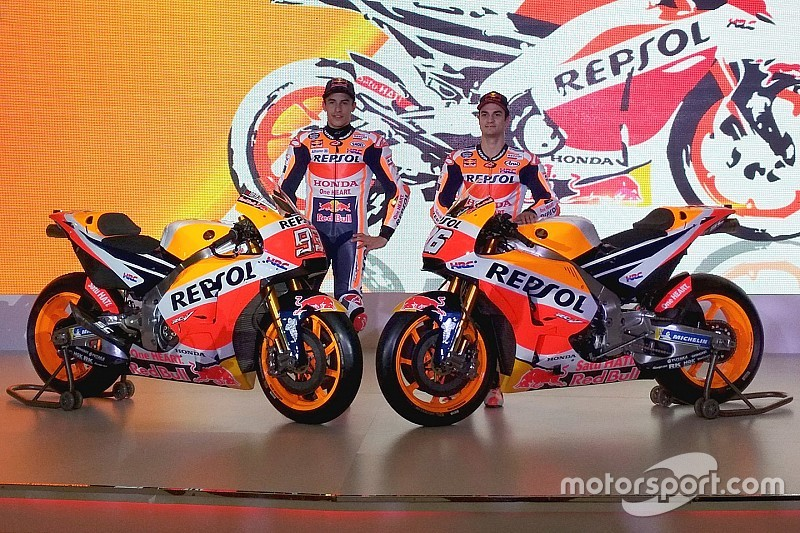 Honda launches 2018 MotoGP bike