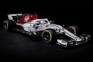 Alfa Romeo Sauber показала машину 2018 года