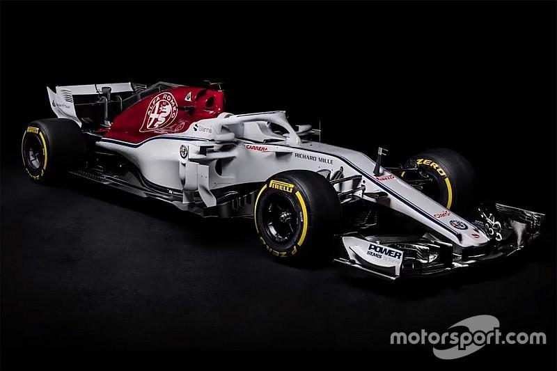 Sauber reveals Alfa Romeo-backed C37