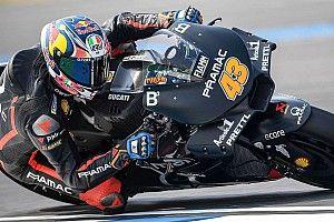Meski terjatuh, Miller tetap senang dengan performa motornya