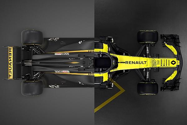 Формула 1 Самое интересное Желто-черная и черно-желтая. Чем отличается новая Renault от старой