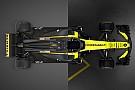 فورمولا 1 مقارنة بين سيارتي رينو لموسمي 2017 و2018