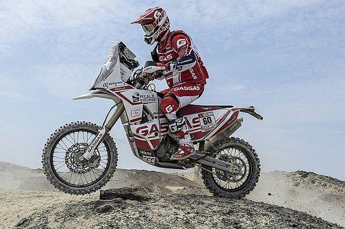El rookie de GasGas que sorprende al Dakar