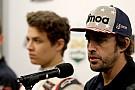 ノリス「アロンソ引退を待たなければ、F1デビューのチャンスはない」
