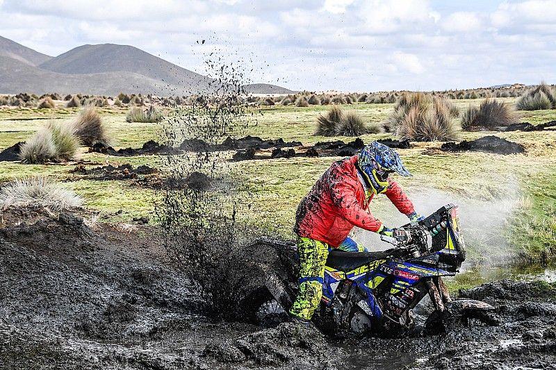 Étape 12 annulée pour les motos et les quads