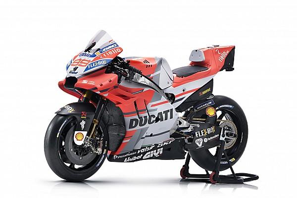 Ducati, 2018'de kullanacağı renk düzenini tanıttı