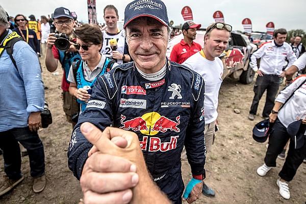 Dakar Sainz says son got