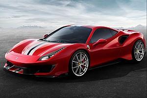 Automotive Breaking news Ferrari 488 Pista caught on video in the real world