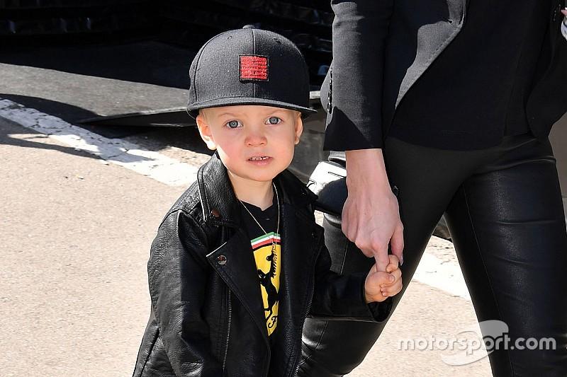 Az ifjabb és az idősebb Räikkönen Barcelonában
