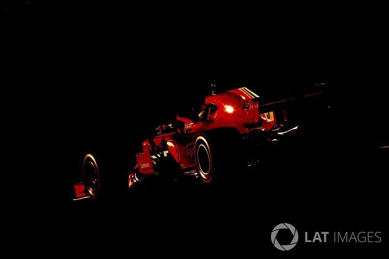 GALERÍA: las 20 mejores fotos del test de F1 del martes
