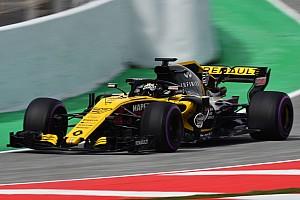 Formel 1 Reaktion Renault nach gutem Testtag: Bild wird sich bis Melbourne noch verändern