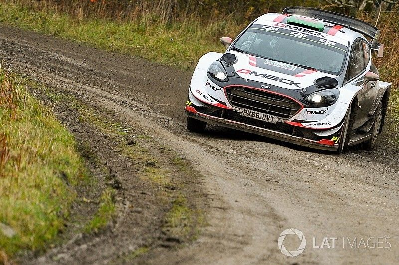 Wales WRC: Evans extends lead over Tanak