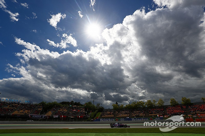 Weersverwachting voor de Grand Prix van Spanje