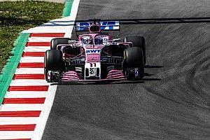 Pérez preocupado por el ritmo de Force India a pesar del noveno sitio