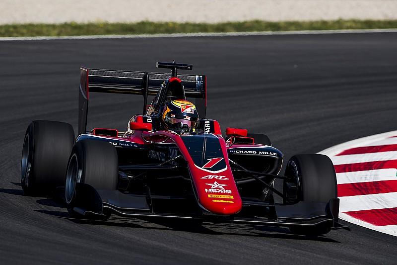 Илотт выиграл гонку GP3 в Шпильберге, Мазепин столкнулся с лидером чемпионата