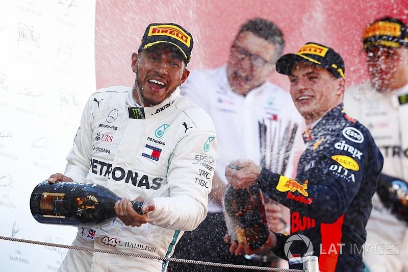 İspanya GP: Hamilton kazandı, Mercedes duble yaptı!