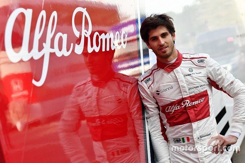 Giovinazzi to partner Raikkonen at Sauber in 2019