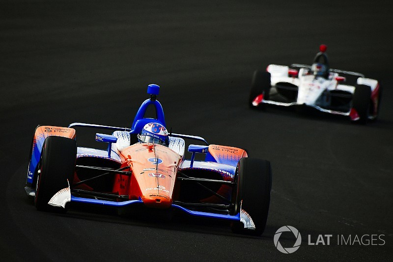 Andretti, Dixon say passing is tougher at Indy this year