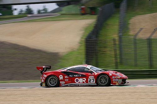 Fisichella e Gai portano la Ferrari in cima nelle Libere 2 ad Imola