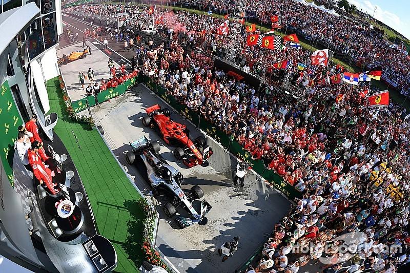 Las mejores fotos de la carrera del GP de Hungría 2018