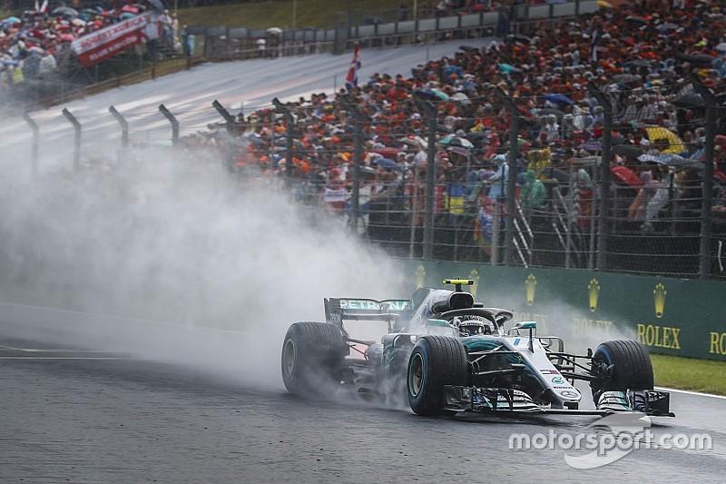 Bottas örül az első sornak, míg a Mercedes végig tudta, hogy a Ferrari a gyorsabb