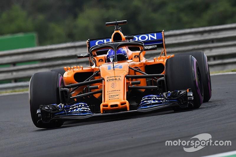 Alonso: el 70% del conocimiento de McLaren se dirige a 2019