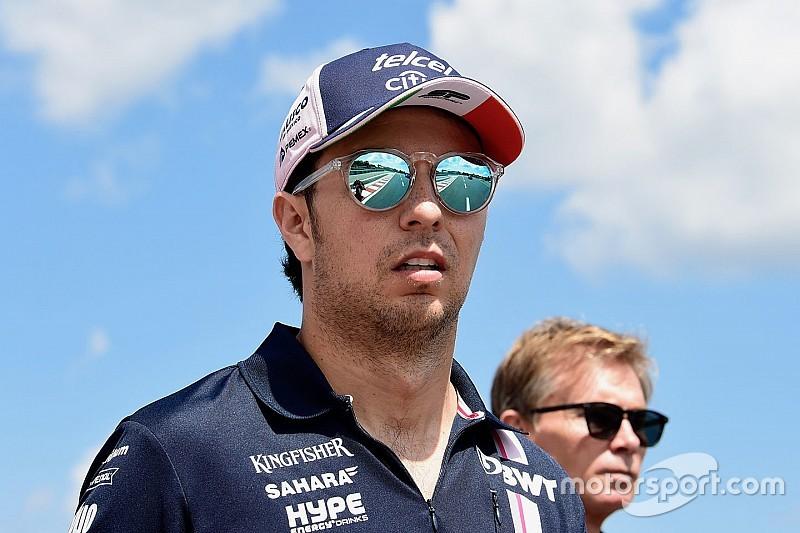 Perez twijfelt niet of Force India racet op Spa