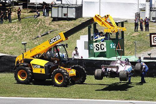 """Ocon noteert allereerste DNF in Formule 1: """"Geen fijn gevoel"""""""
