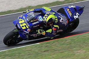 Rossi verärgert über Eigenfehler und Michelin-Vorderreifen